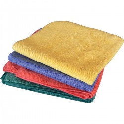 Sprinkled Red Microfiber Towel EUDOREX