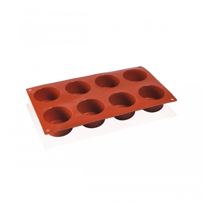 Silicone mould cylindrical 6x3,5 cm