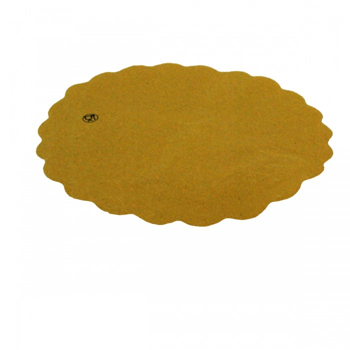 Round Sottofritti Yellow Paper 28 cm - 400 pieces