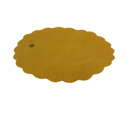 Round Sottofritti Yellow Paper 24 cm - 400 pieces