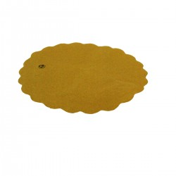 Round Sottofritti Yellow Paper 20 cm - 400 pieces