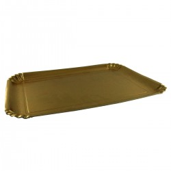 4 golden trays for Food-10kg