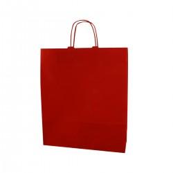 Paper Bag Red 36+12x43 cm