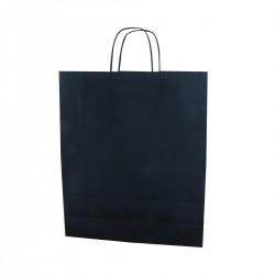 Paper Bag Blue 36+12x43 cm