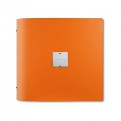 Menù Fashion Quadro Arancio 21x21