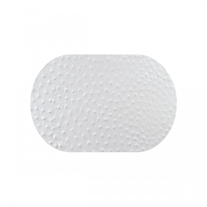 Tovaglia 30x20 Bianco Struzzo 9 pezzi