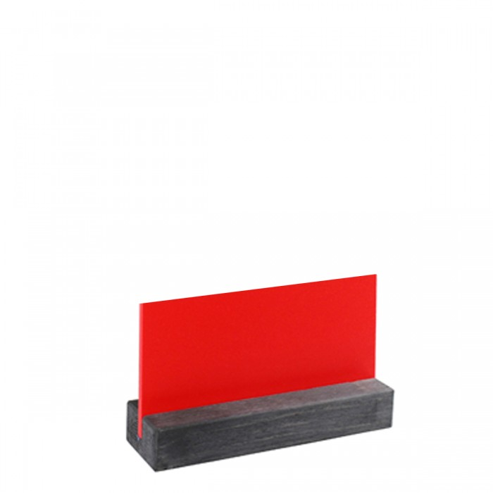Lavagna Rossa da Tavolo 8x15 cm