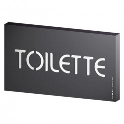 Signs Toilette 8x15