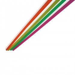 Straws 100 cm. Mixed Colours