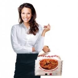 Porta Pizza Away 35x70 Maxi 100 pezzi