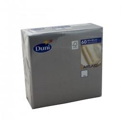 Napkins 40x40 Dunisoft Granite - 60 Napkins Duni
