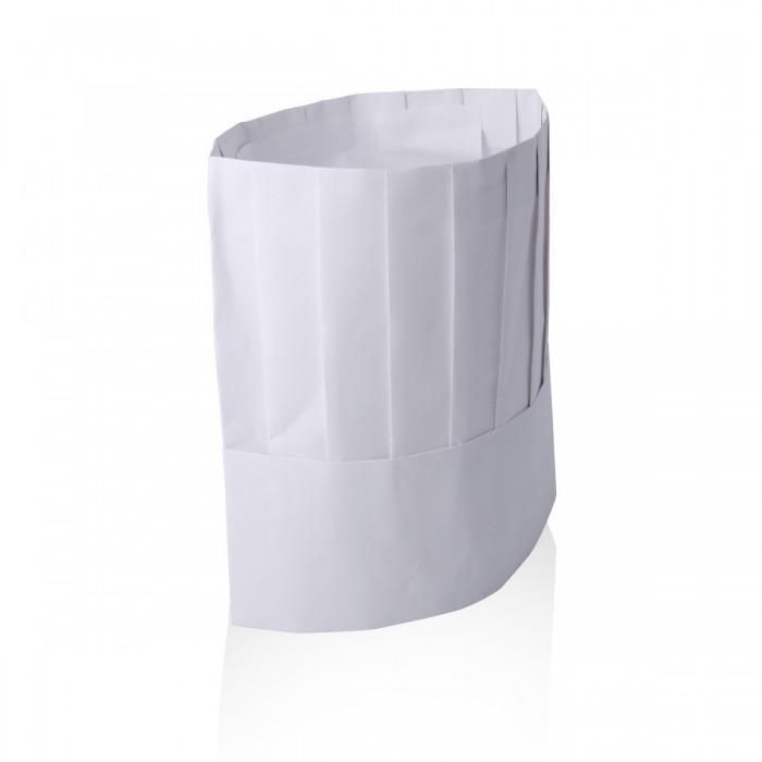 Chef Hat non-woven fabric h 23 cm - 5pcs