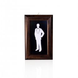 Lavagna Proteo Uomo 15x24 cm