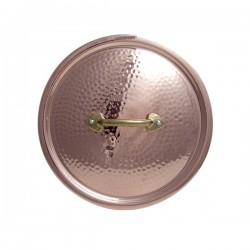 Coperchio Rame Stagnato 20 cm