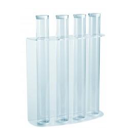 HALF TRIANGULAR BLACK GLASS 70 ml100 pcs