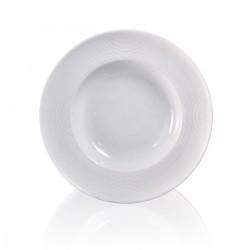 Biscuit Deep Plate Biscuit 23 cm