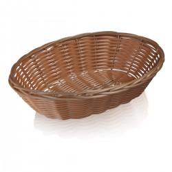 Oval Basket 25 cm polypropylene
