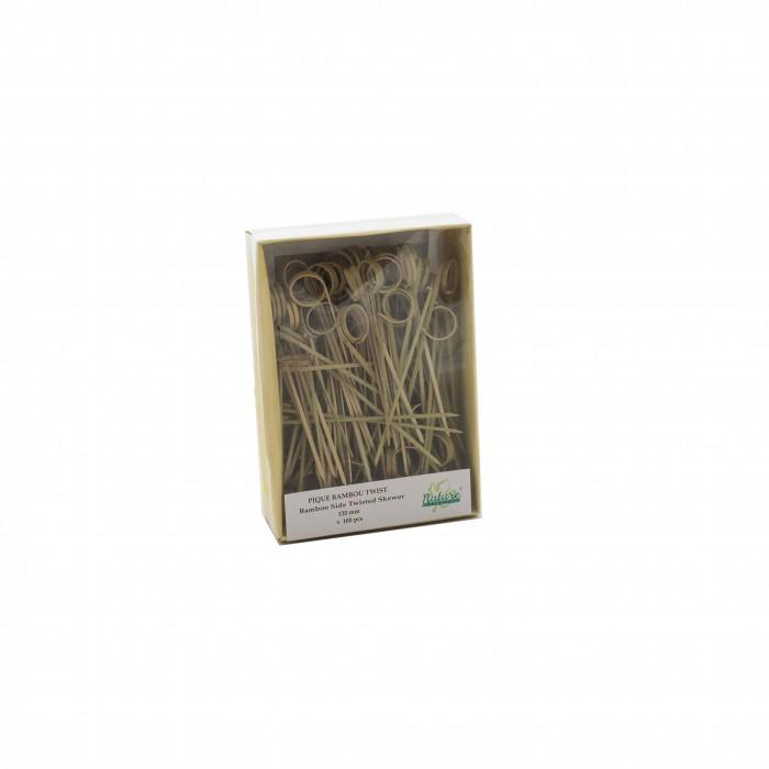 Stecchino Bambù Anello 12 cm 100 pezzi