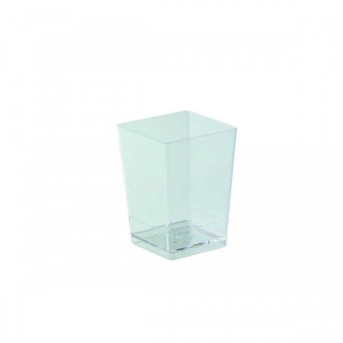 Bicchierino Cubo 100 ml - 100 pezzi