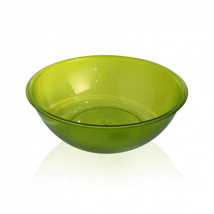 Insalatiera in policarbonato verde 25 cm