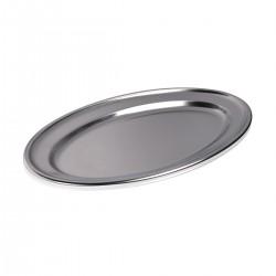 Tray - Oval 18/10 40 cm