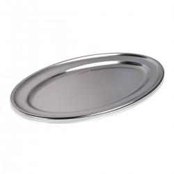 Tray - Oval 18/10 45 cm