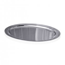 Tray - Portable Oval Stainless Steel 18/10 85 cm