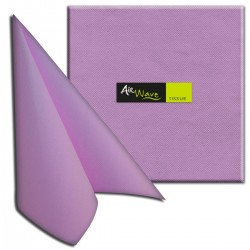NAPKINS AIR WAVEGAIA 40X40 LILLA