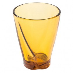 Bicchiere in pasta Ambra