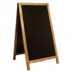 BLACKBOARD FLOOR SANDW.125x70 BLACK