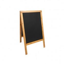 Lavagna Duplo Teak 54,5x85 cm