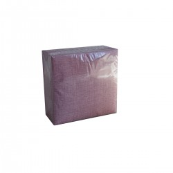 NAPKINS 40X40 BORDEAUX EASY