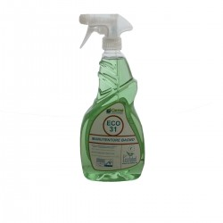 Hygienic clean bathroom ECOLABEL