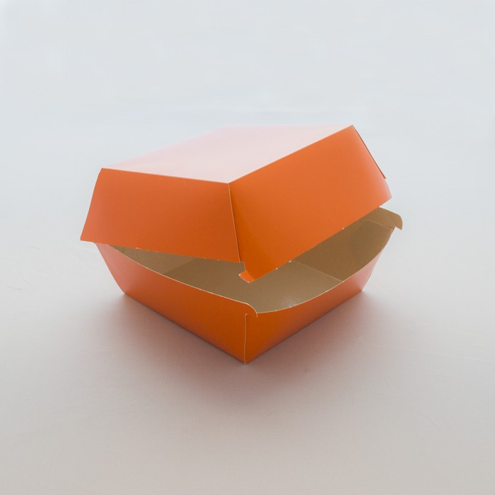 WHIZZ Orange Hamburger Box 600 pz