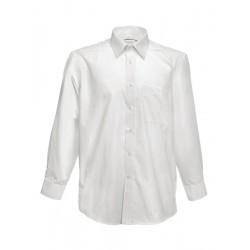 Camicia Uomo Bianca Manica Lunga L