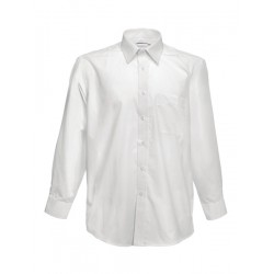 Shirt Man White Long Sleeve