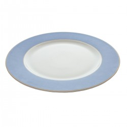 Segnaposto Decorato Azzurro 32 cm - 6 pezzi