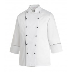 COOK JACKET BLACK PIPING -XXXL-