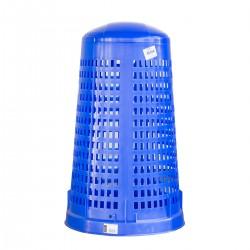 Bidone Ruff Blu 110 lt