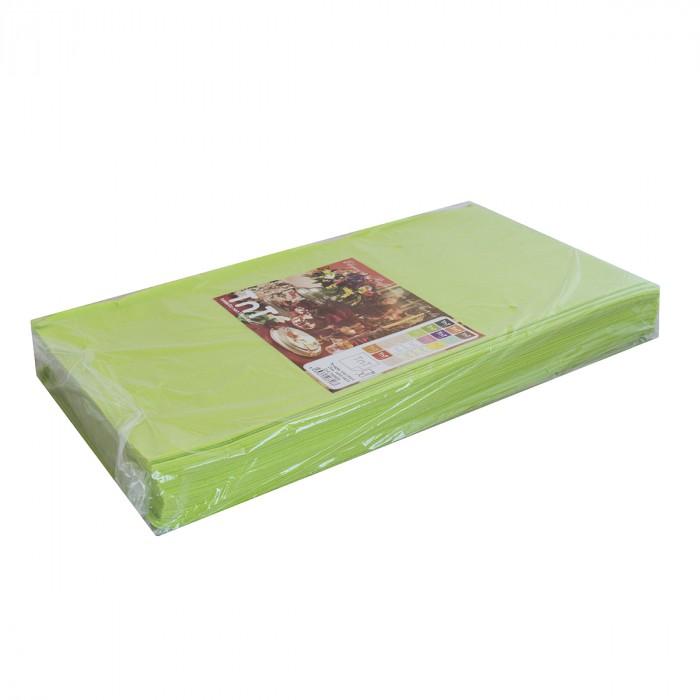 Tablecloth 100x100 TNT Apple Green - 25 pcs