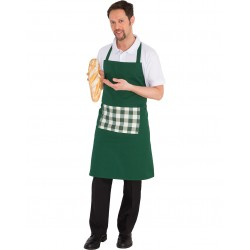 BIB APRON WITH GREEN