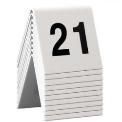 SET OF 10 TABLE NUMBERS FROM 11 TO 20