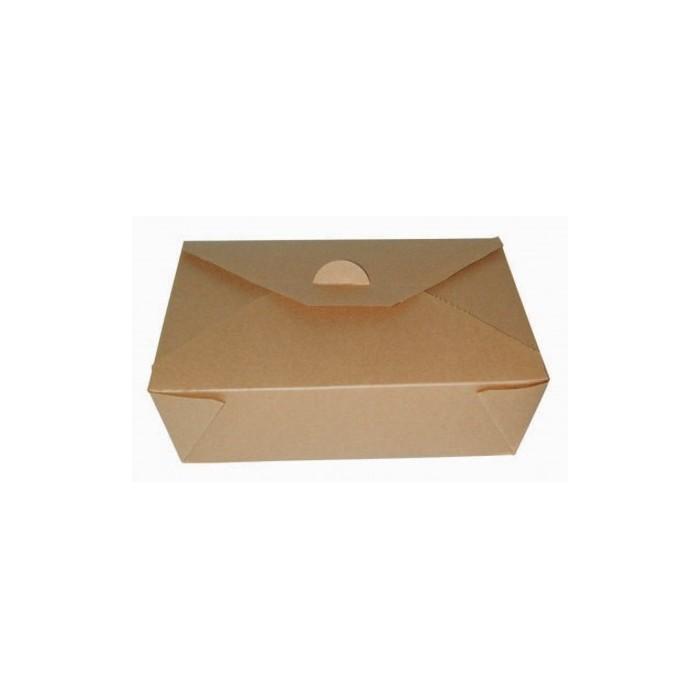 50 Pezzi per Ristorante Catering e Feste 500ml Scatola di Insalata di Cartone Kraft Compostabile Marrone TOROTON Set di Contenitore per Alimenti da Asporto con Finestra Visiva