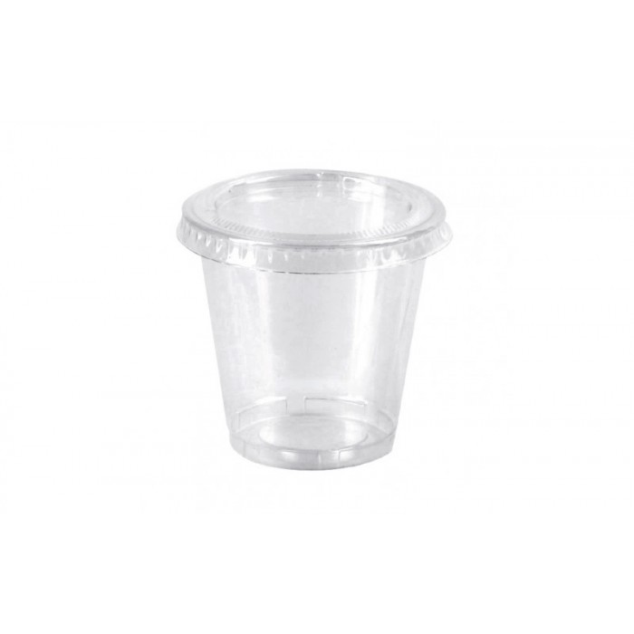 Cocktail glasses in white color brand PP GoldPlast - Pack of 20p