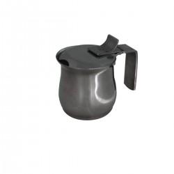 Milk Jug with Lid - S/Steel - 18/10 70 ml