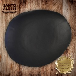 BLACK DINNER PLATE SMALL 28cm