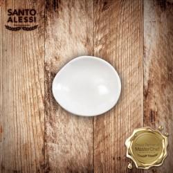 Organica Piatto Olio Bianco 10 cm - 12 pezzi
