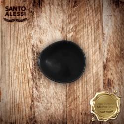 Organica Piatto Olio Nero 10 cm - 12 pezzi