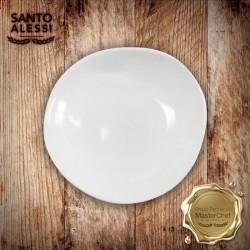 Organica Piatto Pasta Bianco 26 cm - 3 pezzi