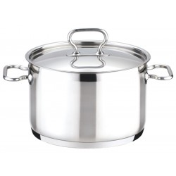 Deep pot 20 cm with cover